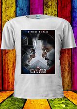Captain America Civil War T-shirt Vest Tank Top Men Women Unisex 456