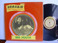 Big Youth - Isaiah First Prophet Of Old  Jamaica LP 1978 Nichola Delita