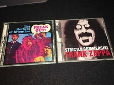 FRANK ZAPPA / THE MOTHERS OF INVENTION Freak Out! & Strictly Commercial Best Of