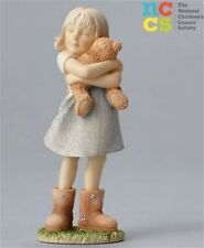 Foundations  By Enesco - Girl With Teddy Bear Figurine - 4050134 - NIB!!