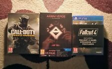Factory Sealed PlayStation 4 Collectors Edition games bundle