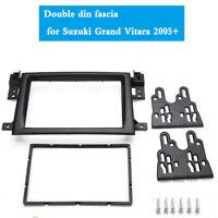 2 DIN Car Stereo Radio Fascia Panel Frame For Suzuki Grand Vitara 2005-2014