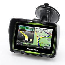 "Excelvan 8GB 4.3"" Motorcycle GPS Navigation SAT NAV Waterproof BT Win CE6.0 UK"