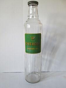 BP Energol quart bottle. Motor oil bottle. Shell. Mobil. Esso. Motor oil bottle.