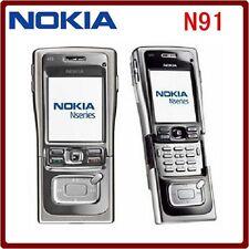 ORIGINAL Nokia N91 Black 8GB 100% UNLOCKED Smartphone GSM Warranty FREE N 91 EN