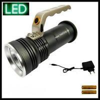 Handscheinwerfer LED XML Cree 10W Taschenlampe Arbeitsscheinwerfer Handlampe