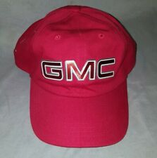 GMC Hat GMC Acadia Red Adjustable Strapback Hat AHEAD
