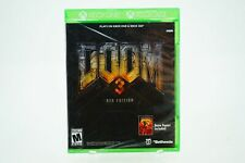 Doom 3 BFG Edition: Xbox One/360 Backwards Compatible Poster Included Brand New