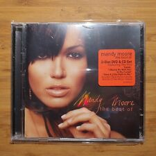 Mandy Moore - The Best of Mandy Moore - CD+DVD - Made in USA - Like New