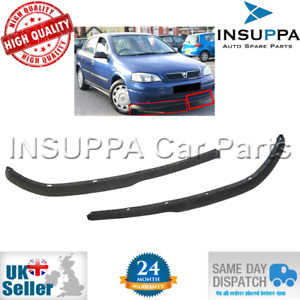Front Bumper Spoiler Extension Set L&R For Opel Astra G Vauxhall MK4 1400531