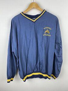McGuffey Athletics Mens Track Jumper Size L Windbreaker Pullover Sewn Vintage US