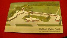 Waldorf Motor Court postcard Washington DC 1956 cancel linen card  #2063