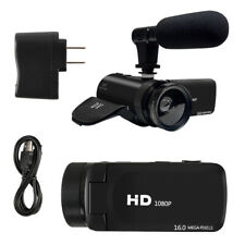 Video Camcorder Vlogging Camera HD Video Camera W/Microphone Wide-angle lens