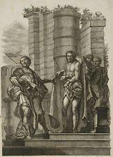 """J. HOLZER (1709 Burgeis, Südtirol-1740 S), """"Ecce Homo"""", Radierung, 18. Jhd."""