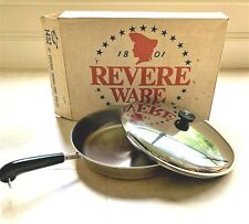 Brand New Revere Ware 12 Inch Covered French Chef Skillet #1452