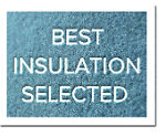 Best Insulation Selected