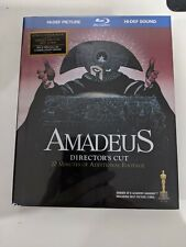 Amadeus - Director's Cut Blu-ray, plus Cd, Digibook - Brand New Factory Sealed
