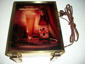 Ruppert Knickerbocker Beer Vintage Light Up Sign