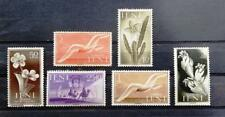 IFNI - 1954, 1955, 1956 - Selection of 6 MINT Stamps - Flora & Fauna High Value