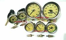 Smiths Gauge Kit Temp+ Oil+ Fuel+ Volt +Oil Temp+Speedometer +Tacho Replica