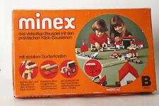 Märklin Minex B 9502  vielseitiges Bauspiel mit Klick-Bausteinen  (113235)