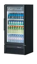 Turbo Air 9.3 Cu.ft Commercial Cooler Merchandiser with 1 Glass Door Tgm-10Sd