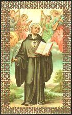 SANTINO HOLY CARD IMAGE PIEUSE - SAN NICOLA DA TOLENTINO - FRATE AGOSTINIANO