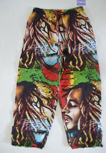 Bob Marley (BM B) Rasta Reggae Hippie Unisex Cotton pants Free Size - NEW