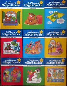 Vintage Jim Henson's Muppet Stories - nine Hardcovers - #3-4-5-7-8-9-10-11-12