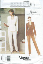 Vogue 1885 sewing pattern Paris Original JACKET, PANTS sew MONTANA design 6-8-10