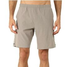 Brooks 241109 Mens Rush Running Activewear Shorts Heather Carb Size 2X-Large
