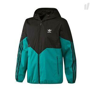 Adidas Originals Windbreaker jacket M trefoil Green Black Celtic 2016 Colorado