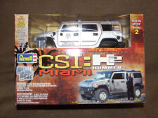 Rare Revell CSI Miami 2005 hummer h2 Silver Metal Body Kit 1:25 scale No. 851567