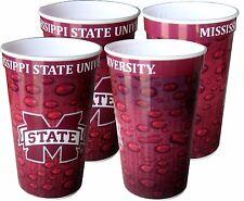 Mississippi State Bulldogs 22 oz. Souvenir Cups (4 per set)