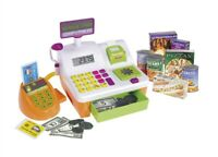 Casdon Chip N Pin Till Pretend Shopping Toy With Chip and Pin Feature
