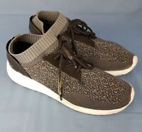 Workout Mens Trainers Black Grey Fitness Running UK Size 9