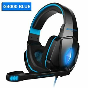Gamers Headphone With Microphone PC XBOX PS4/5 Laptop Deep Bass Stereo Sound Ear