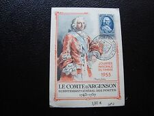 FRANCE - carte 1er jour 14/3/1953 (journee du timbre) (cy99) french