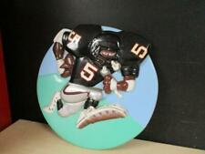 RARE UNIQUE ATLANTA FALCONS FOOTBALL 3D WALL PLAQUE FROM OLD CARNIVAL WATER GAME