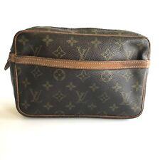 Louis Vuitton monogram Compiegne 23 M51847 clutch bag handbag used 59-9-o