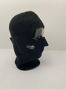 Gator Balaclava Clavagator Face Mask Helmet Liner Sz L Fleece Lined Neoprene EUC
