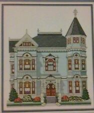 """""""Simpson-Vance House (1892)"""" Nancy Spruance Victorian House Chart Pack ©1992"""