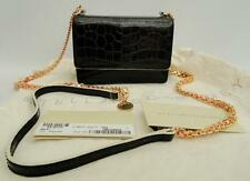STELLA MCCARTNEY Black croc-print Shoulder Bag Falabella Perfect gift