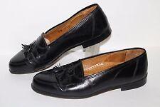 Adolfo Tasseled Loafer, #1615/1, Black, Leather, Men's US Size 9
