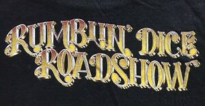 Vintage You Am I - Rumblin' Dice Roadshow Long Sleeve Black Tshirt - Size M