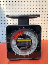 Vintage Pelouze Model K5 Tabletop Mechanical Postal Scale 5 lb Capacity