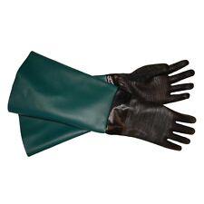 CUSTOM SIZE- Heavy Duty Best Mfg. Sandblasting Sand Blast Blaster Gloves #CUS-HD