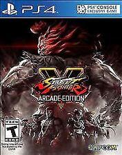 Street Fighter V: Arcade Edition (Sony PlayStation 4, 2018)