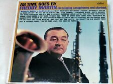 """FREDDY MARTIN*AS TIME GOES BY*CAPITOL T-2347*1964 12""""33 RPM LP*.BIG BAND*.EX+"""