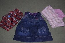 Zara, Zippy, Girl, Party, Casual, Bundle, Dress, Shirt, Cardi, size 6-9 m